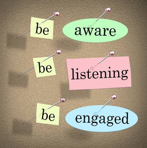 be-aware-listening-engaged